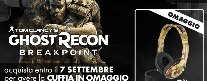 Promozione Ghost Recon Breakpoint!