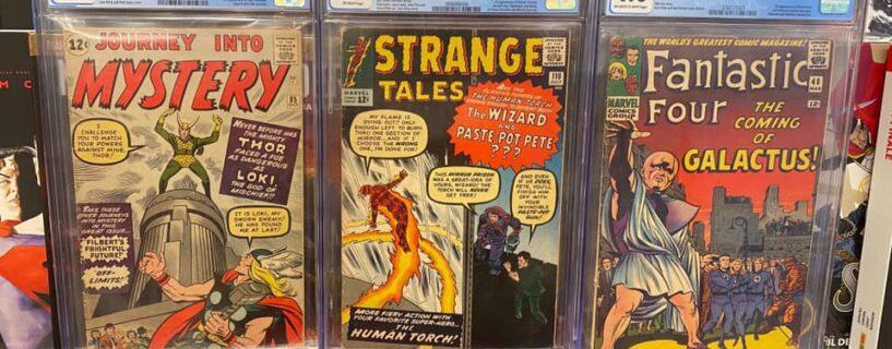 Nuovi CGC Comics arrivati in negozio!